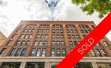 West Exchange District Hard Loft Condo for sale: The Fairchild Lofts 1 + Den 911 sq.ft. (Listed 2015-10-26)